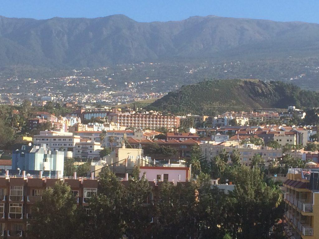 Utsikt från hotellet Tenerife